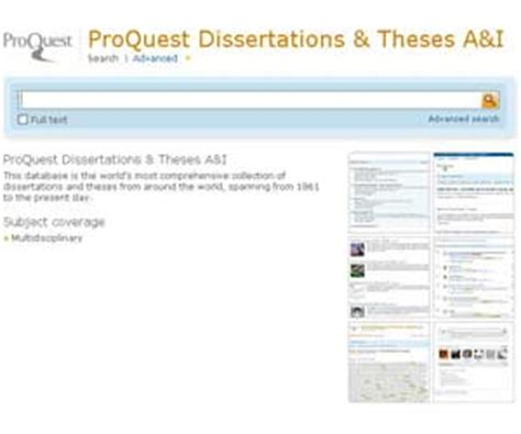 proquest dissertations theses proquest dissertations thesis a i