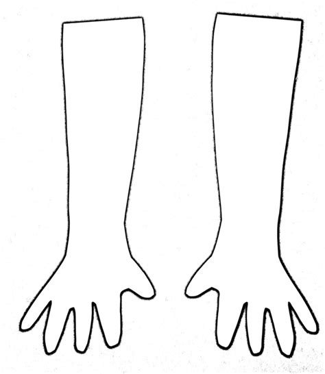 arm template the helpful cartooning and animation