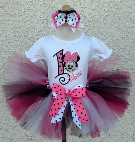 Set Tutu Mickey 3 9bulan diy minnie mouse tutu dress diy do it your self