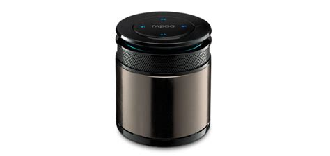Rapoo A3060 Bluetooth Mini Speaker Silver tiny rapoo portable bluetooth speaker is less than 3