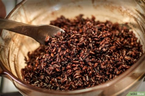 come cucinare il riso nero come preparare il riso nero 5 passaggi illustrato