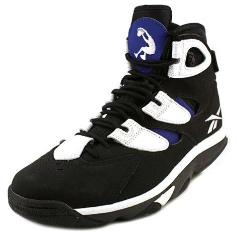 reebok reebok shaq attaq iv black basketball shoe athletic