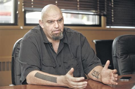 john fetterman tattoos braddock mayor fetterman caigns as senate