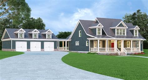 metal roof house plans country home with metal roof 75482gb architectural designs house plans