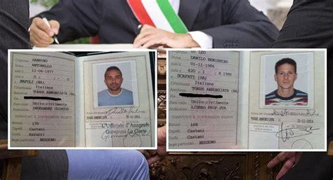 ufficio anagrafe marano di napoli unioni civili le carte d identit 224 si adeguano arriva la