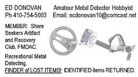 metal detecting business cards template metal detecting business cards page 2