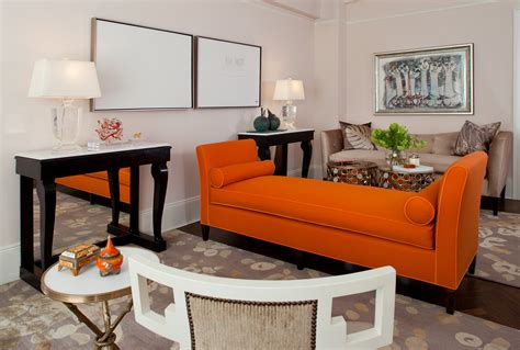 light colored dining room sets orange living