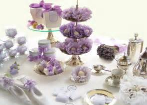 purple bridal shower time for the holidays