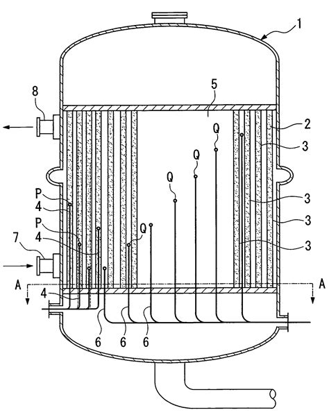 fixed bed reactor patent us7588739 fixed bed multitube reactor google