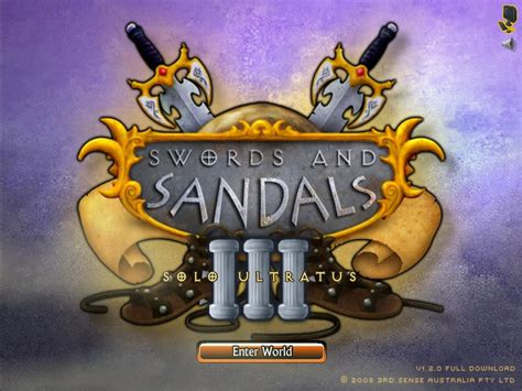 swords and sandals 3 hacked swords and sandals 3 ultratus hacked cheats
