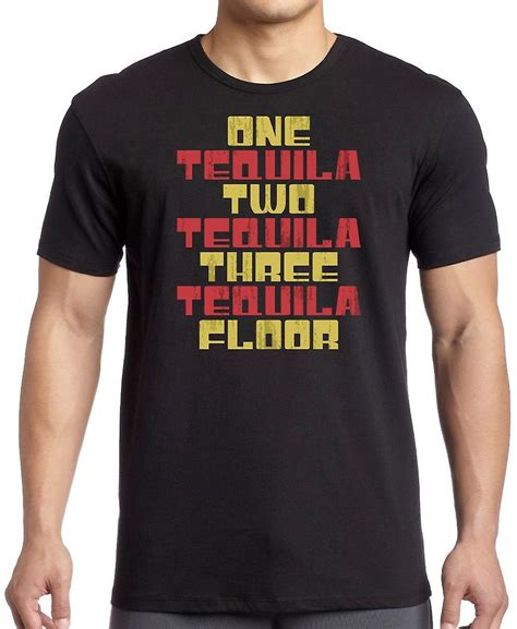 1 tequila 2 tequila 3 tequila floor shirt 3xlt one tequila two tequila three tequila floor t