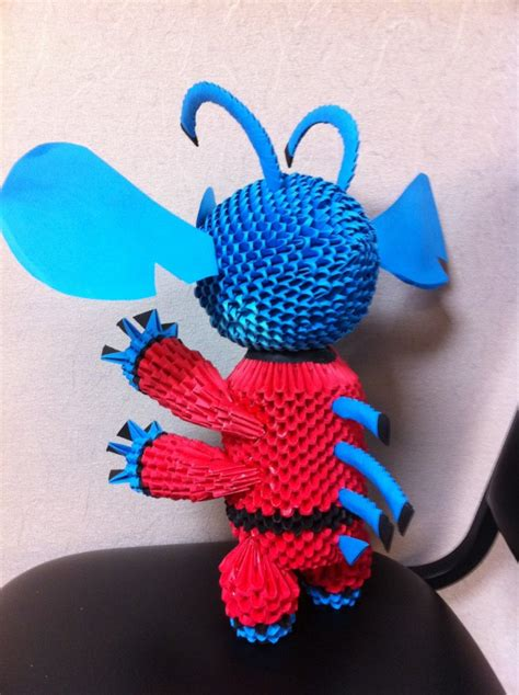 3d origami stitch tutorial 3do alien suit stitc album shawn 3d origami art