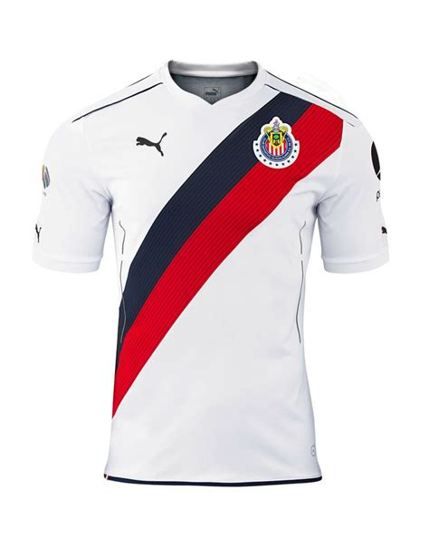 design jersey bola polos cd chivas guadalajara mexico 2016 2017 puma away shirt