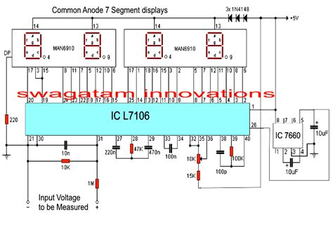 panel volt meter wiring diagram for wiring diagram with