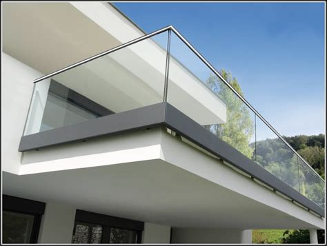 Französischer Balkon Glas by Balkon 252 Berdachung Aus Glas Haloring