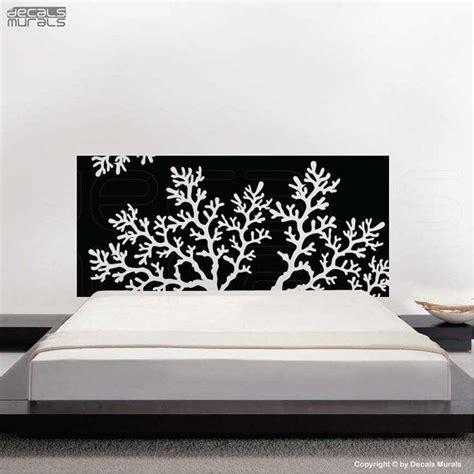 headboard wall art vinyl decal coral reef headboard wall art decor stickers