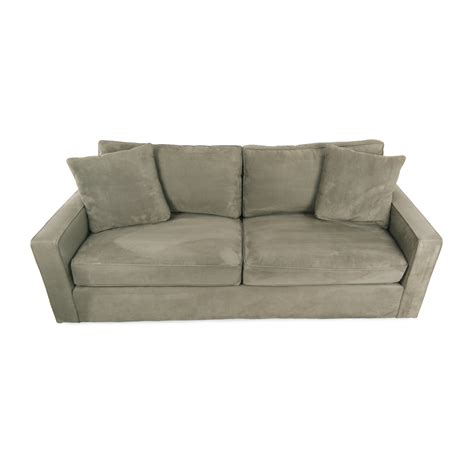 york sofa room and board 69 off crate and barrel crate barrel simone daybed