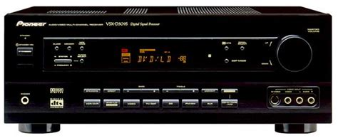 vsx ds audiovideo receiver pioneer electronics usa