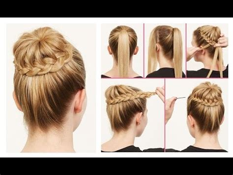 and easy hairstyles for school step by step beautiful easy hairstyles step by step beautiful