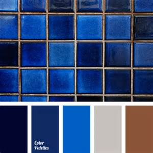 blue color combination shades of blue and brown color palette ideas