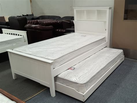 bed on wheels furniture place kaylee king single bed with box headboard