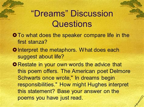 Theme Of American Poem Analysis Of Langston Hughes Dreams And Harlem A Deferred Ppt