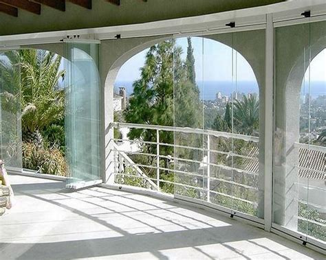 chiusura terrazzo pvc chiusura terrazzo con vetrate