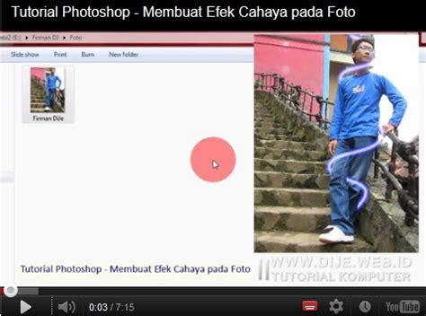 tutorial membuat efek vektor pada photoshop tutorial photoshop membuat efek cahaya pada foto dije