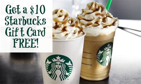 Can You Redeem Starbucks Gift Cards For Cash - free starbucks 10 gift card saving dollars sense