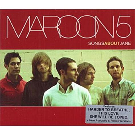 Cd Maroon 5 Songs About Import songs about maroon 5 cd album achat prix fnac