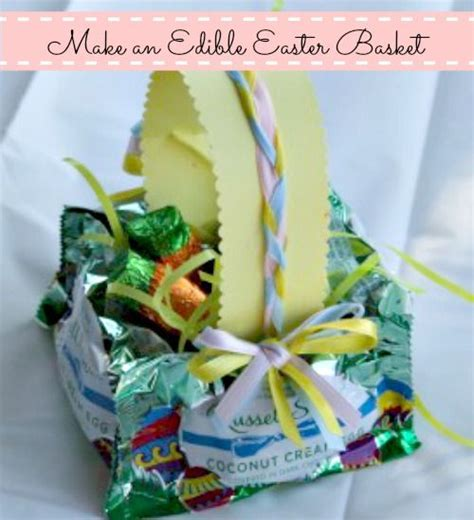 edible easter baskets easy easter craft hip2save 17 best images about easter goodies on pinterest easter