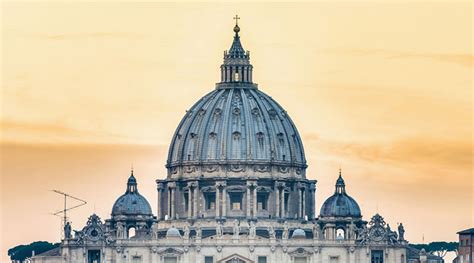 cupola di san pietro michelangelo the prospect magical of st dome