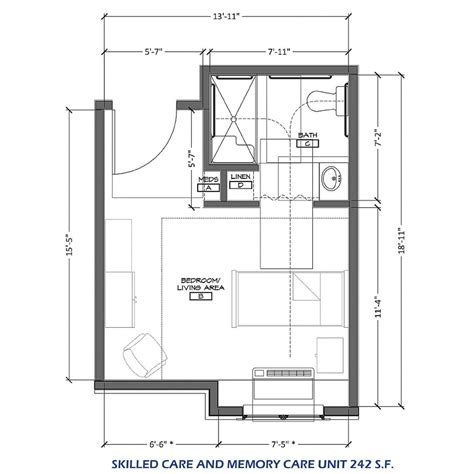 nursing home layout design skilled nursing care the homeplace at midway
