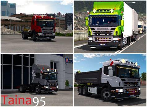 scania p360 v1 5 1 25 ets2 truck simulator 2 mod