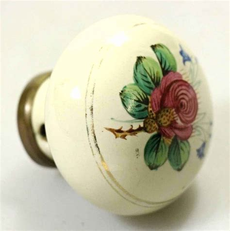 Porcelain Door Knobs Floral by Painted Porcelain Floral Knob Olde Things