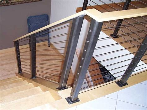 Cable Stair Railing Ultra Tec 174 Stainless Steel Railing System Modern Staircase