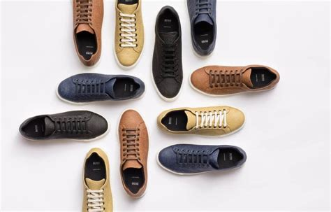 Hm Launches Shoe Range by Hugo Launches Pi 241 Atex Vegan Pineapple Leather S