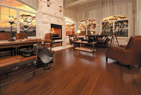 laminated walnut wooden floor and brown sofas with laminate hardwood flooring for enhancing your floor ideas