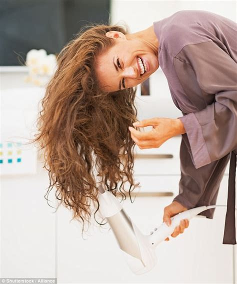 dry hair upside down science of drying your hair by a cambridge academic