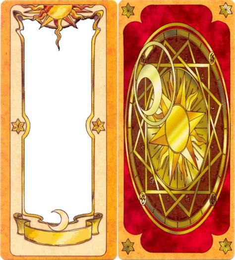 clow cards template card template by gepenkusil on deviantart