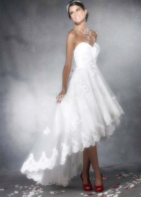 High Wedding Dresses by High Low Plus Size Wedding Dresses Pluslook Eu Collection
