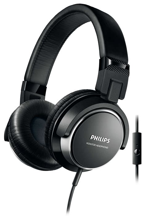 Headset Philips headphones with mic shl3265bk 00 philips