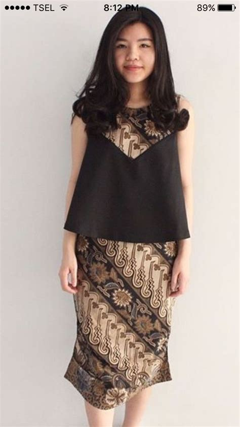 Dress Wanita Dress Conte 3 best 25 gaun batik modern ideas on dress brokat modern kebaya simple and dress