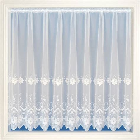 embroidered voile curtains uk chantel white embroidered voile net curtain 2 curtains