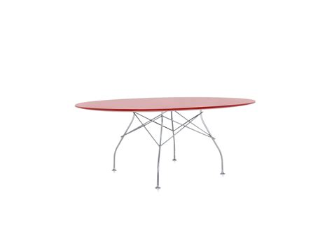 Buy The Kartell Glossy Oval Dining Table At Nest Co Uk Kartell Dining Table