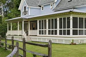 Farmhouse Porch by On The Drawing Board Modern Farmhouse Design Revisited
