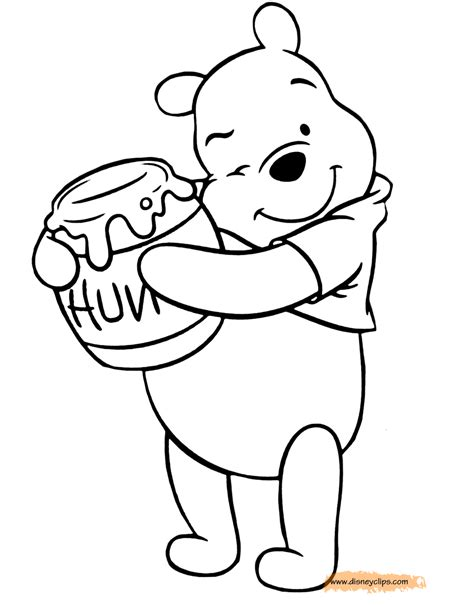 honey bear coloring pages jar coloring pages honey bear w bees honey jar coloring page