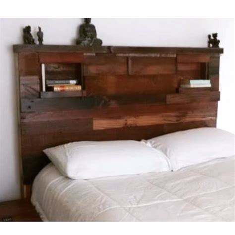 headboards made from reclaimed wood rustic reclaimed wood headboard 400 oceanside this