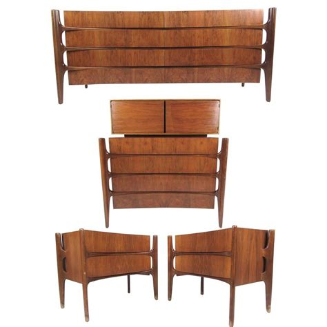 mid century bedroom set mid century modern bedroom set by edmond j spence for