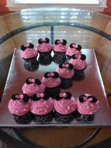 minnie mouse cupcakes birthday party ideas pinterest